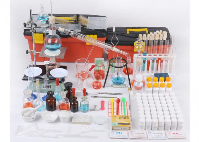 Junior High School Common Laboratory Equipment Transparent Glass And Heat Resistant