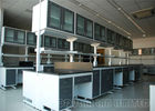 China Upper Cabinet Units Science Lab Furniture , Floor Type Laboratory Benches And Cabinets factory