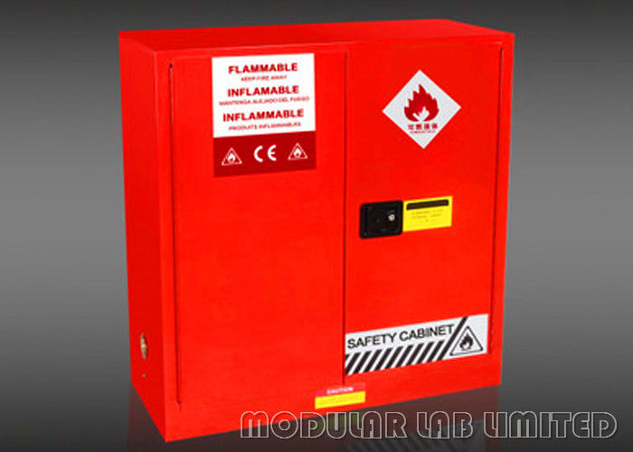 Bright Color Flammable Storage Cabinet Preventing Maximum Leak Control