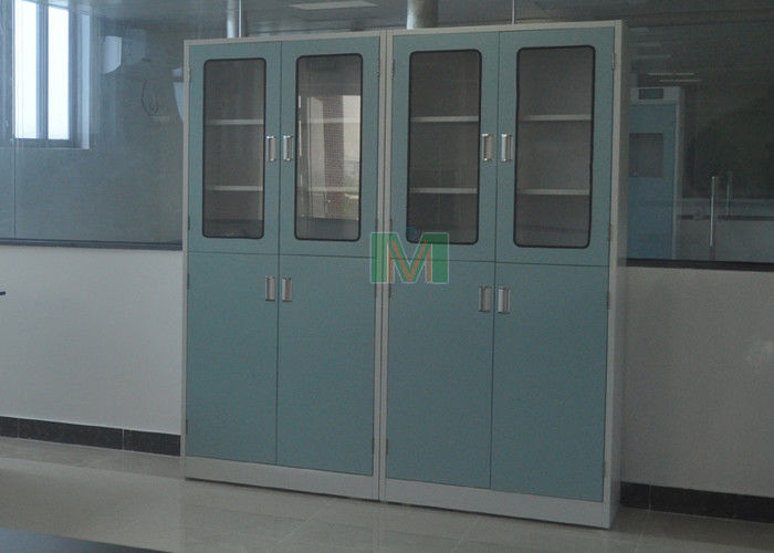 Large Capacity Chemical Storage Cupboard , 5 - 10 Years Warranty Lab Cabinets And Countertops