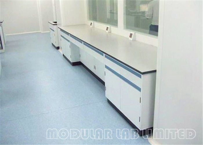 School Chemistry Lab Furniture / Science Lab Storage Cabinets